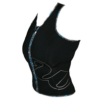 Wing Ladies Zip Athletica SleeveLess Vest
