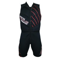 Freestyle Barefoot Suit Red Linear