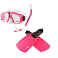 Adventure Snorkle Set SMALL - Pink