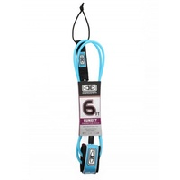 O&E Sunset 6' Leash - BLUE