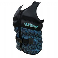 Wing Ariel Buoyancy Vest L50s Blk Palm