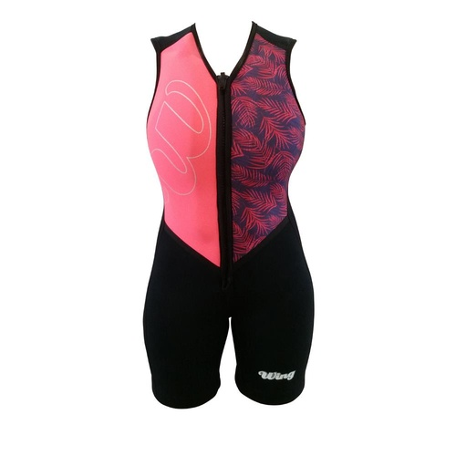 Wing 2019 Ariel Buoyancy Suit - Peach Palm - L8