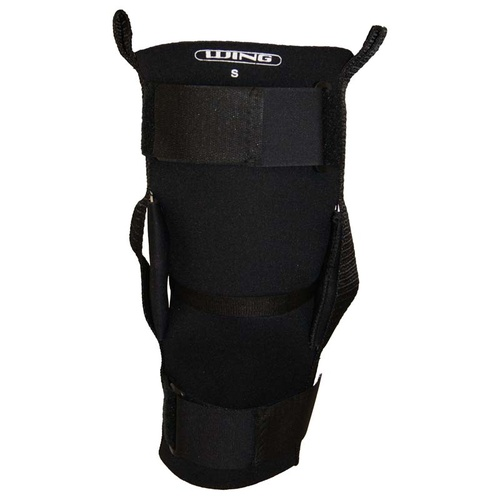 Wing Hinged Sports Knee Brace - Black - S